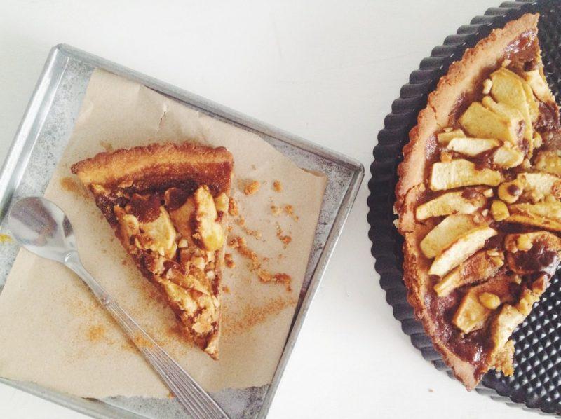 Tarta de manzana, almendras y dulce de leche » Being Biotiful